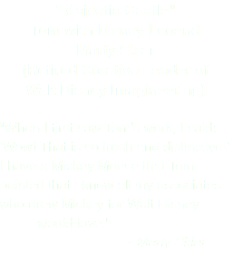 """Majestic Castle"" Tom with Disney Legend Marty Sklar (Retired Creative Leader of Walt Disney Imagineering) ""When I first saw Tom's work, I said: 'Wow! That is so fresh and distinctive!' I have a Mickey Mouse that Tom painted that I know all my associates who drew Mickey for Walt Disney would love."" - Marty Sklar"